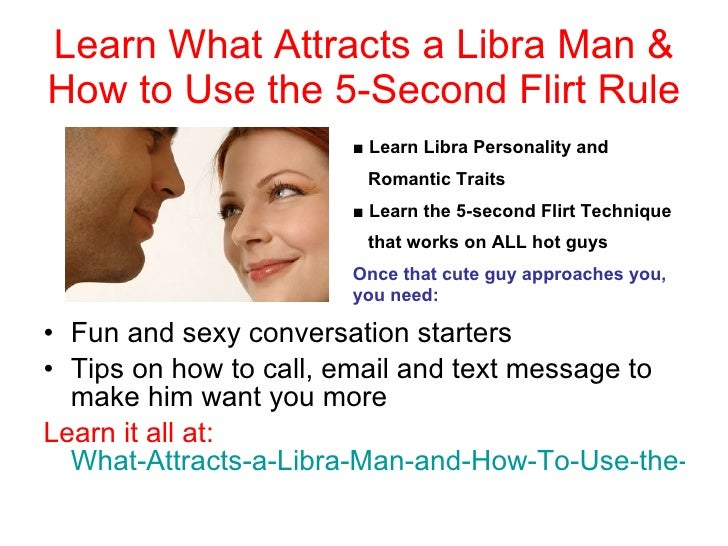 What To Know When Hookup A Libra Man