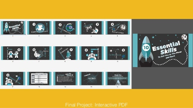 Final Project: Interactive PDF
