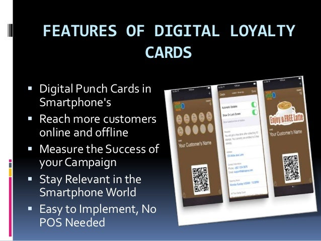 Learn about digital loyalty card