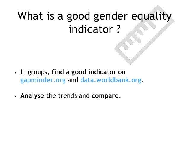 Gender Equality A Metaphor For Change