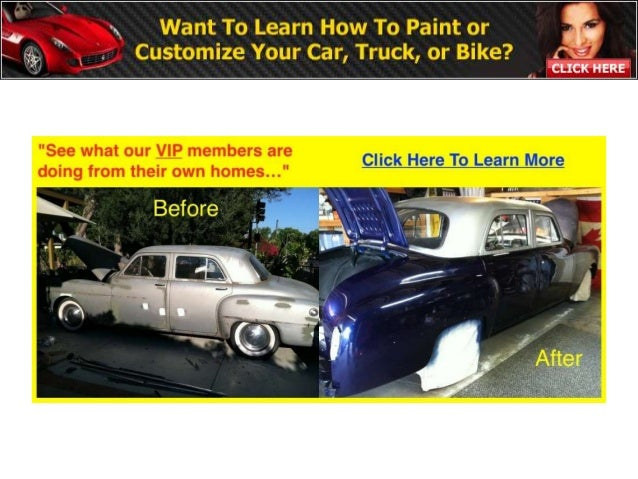 Free 85 Page Auto Body And Paint Manual