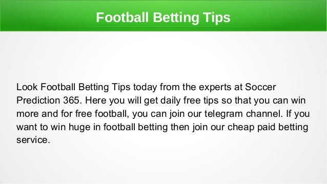 Football Prediction Telegram Channel