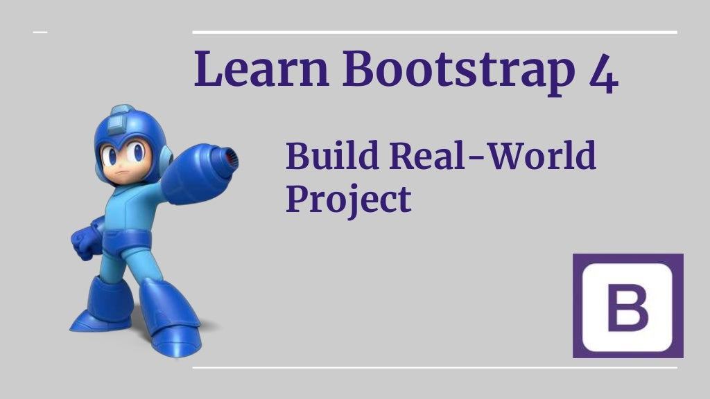 Learn Bootstrap 4