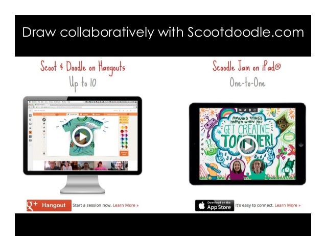 Draw collaboratively with Scootdoodle.com