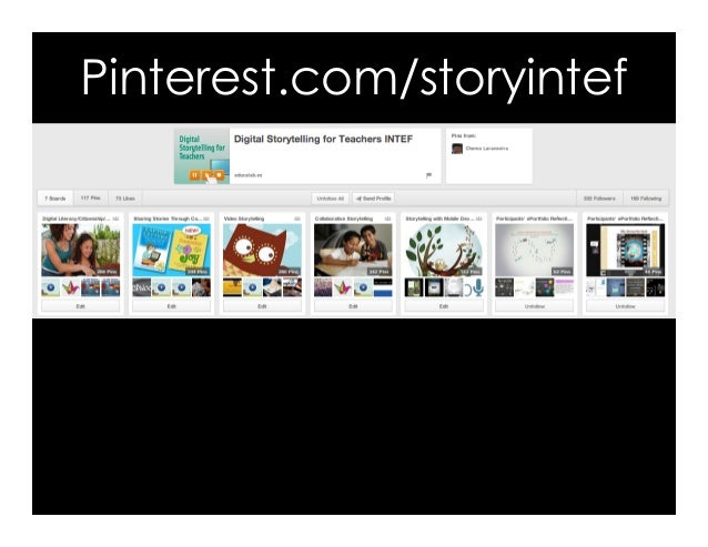 Pinterest.com/storyintef