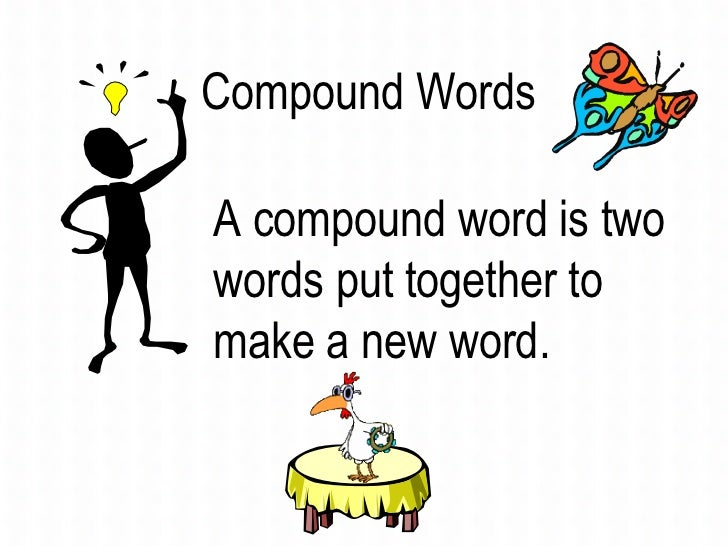 Learn compound words