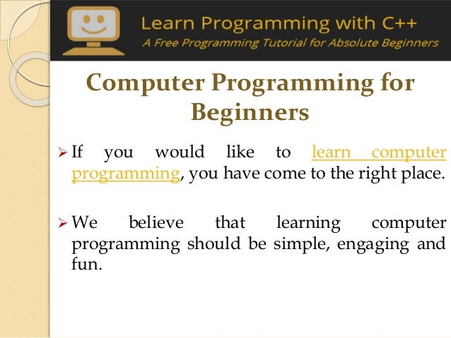Learn a Computer Programming Language Online for Free