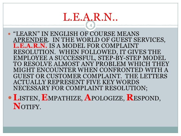 5 Parts of Performing the L.E.A.R.N. Model Effectively ...
