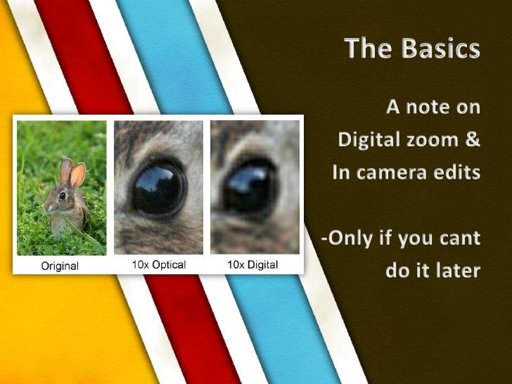 Digital Photography Course by Stanford Professor