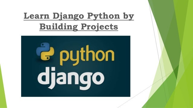 Learn Django Python By Building Projects