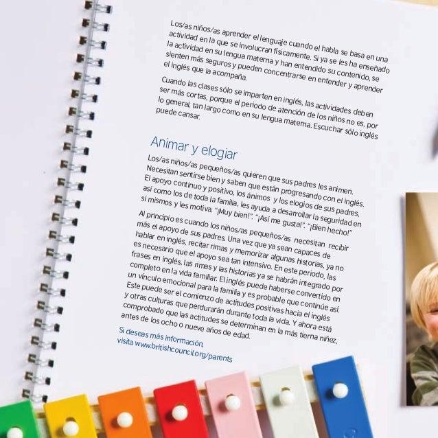 www.britishcouncil.org/parents Uno de los folletos encargados por el British Council para ayudar a los padres. Opl Dunn: a...