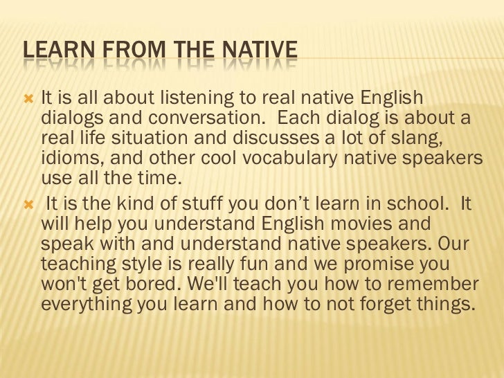 Learn english the easy way Slide 3