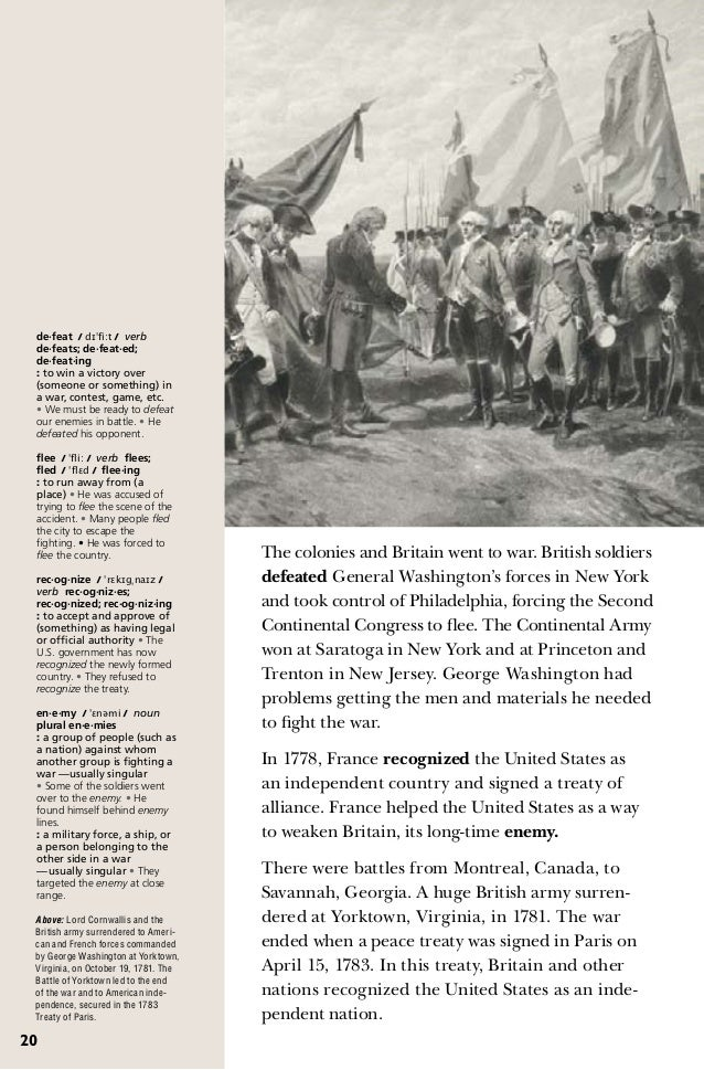 USA history in brief for English learner