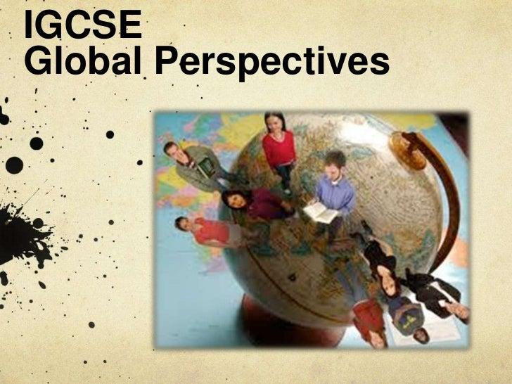 IGCSEGlobal Perspectives<br />