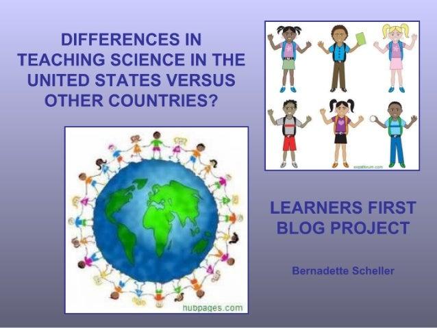 Learners first blog presentation