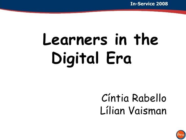 Learners in the digital era