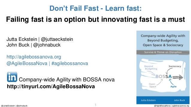 @AgileBossaNova | agilebossanova.org1@JuttaEckstein | @johnabuck Jutta Eckstein | @juttaeckstein John Buck | @johnabuck ht...