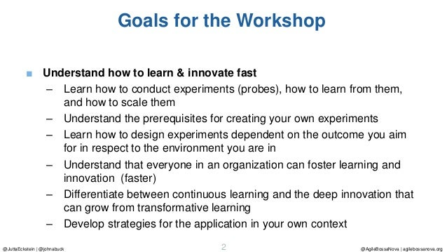Don't Fail Fast - Learn fast: Failing fast is an option. But innovating fast is a must Slide 2