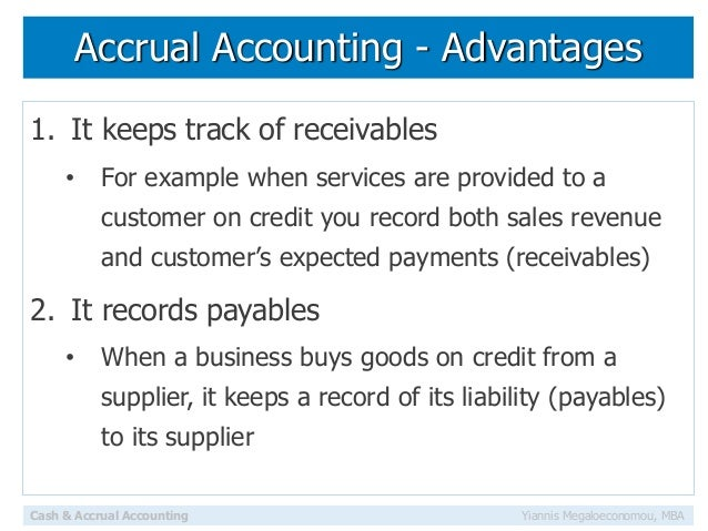 learn finance accrual and cash accounting