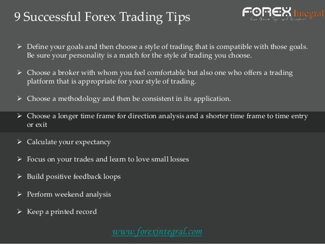 Integral forex brokers