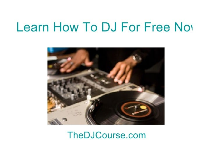 Learn dj online / August 2018 Deals