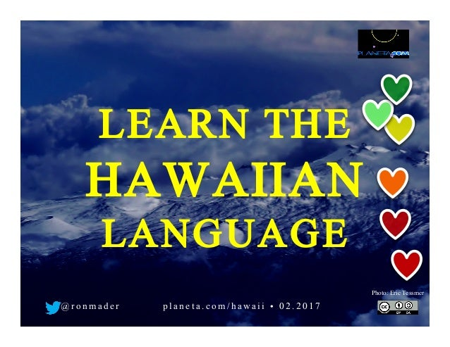 how to learn hawaiian language