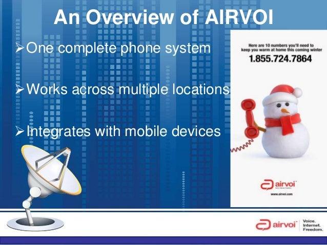 Learn How AIRVOI Cloud Based Voice Over IP System Works Slide 2