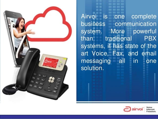 Learn How AIRVOI Cloud Based Voice Over IP System Works Slide 3