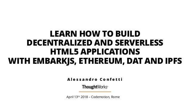 LEARN HOW TO BUILD 