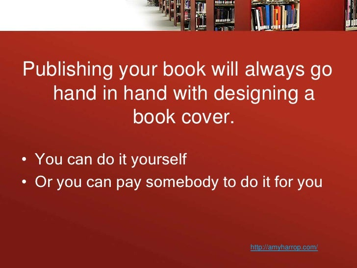 Design Your Book Cover : Learn how to design your book cover
