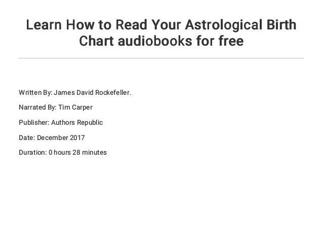 Horoscope Or Birth Chart 3