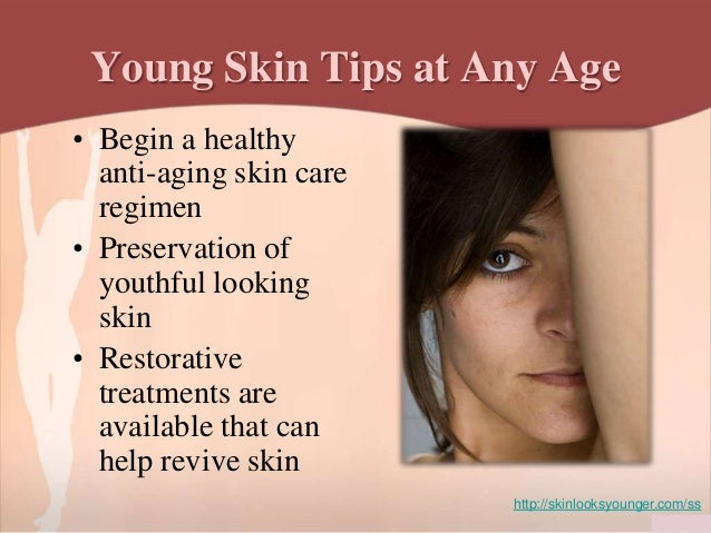 Learn how to take care of your skin at any age