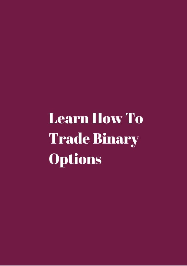 How to trade options from home