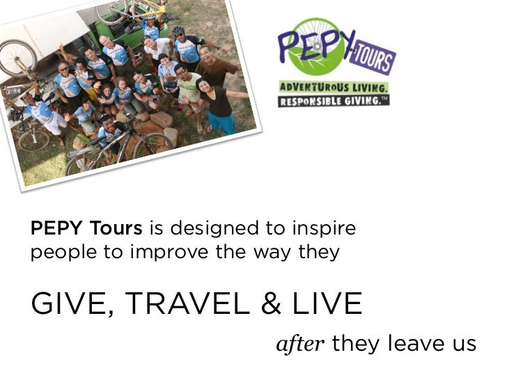 learning service= trips where you are learning toserve AFTER you leave