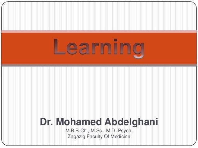 Dr. Mohamed Abdelghani M.B.B.Ch., M.Sc., M.D. Psych. Zagazig Faculty Of Medicine