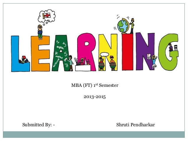 learning in organisational behaviour pdf