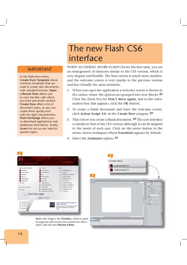 extract of learning flash cs6 with 100 practical exercises, Presentation templates