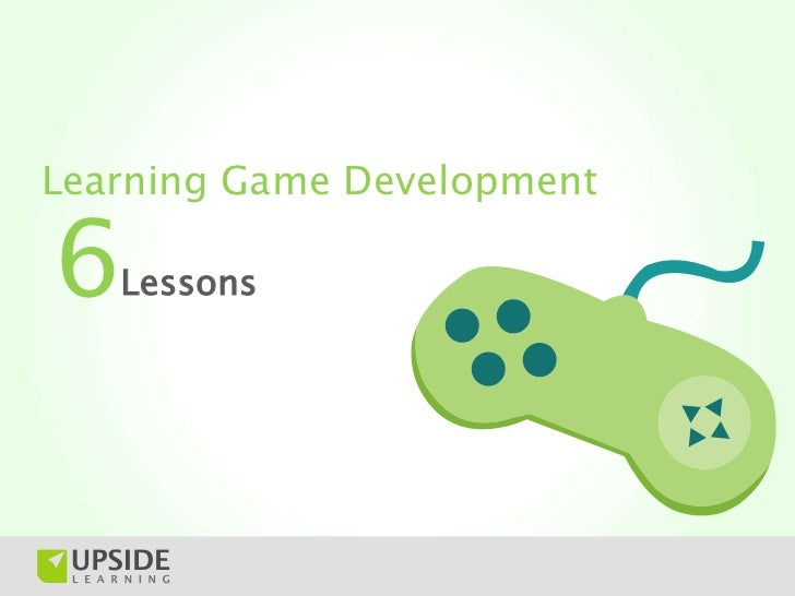 Learning Game Development6  Lessons