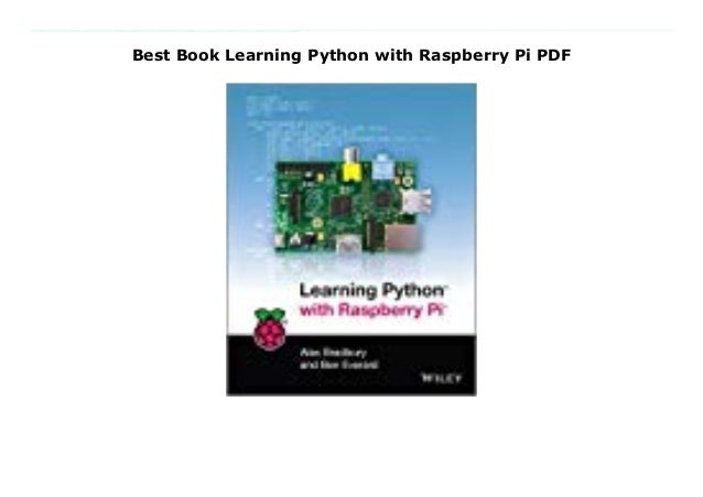 learning python with raspberry pi pdf free download