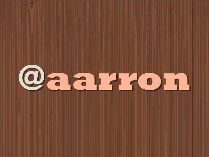 Aarron Walter: Learning to Love Humans (Webdagene 2011)