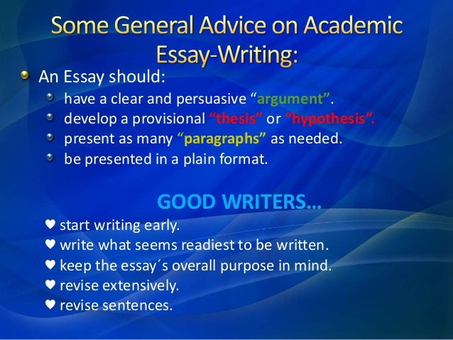learning academic writing