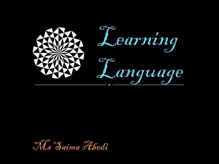 Ms Saima Abedi