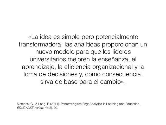 38 NMC Horizon Report: Edición Educación Superior 2016 Analíticas de aprendizaje y aprendizaje adaptativo Plazo estimado p...
