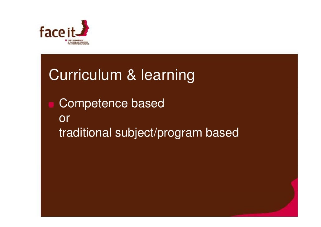 curriculum  u0026 learning