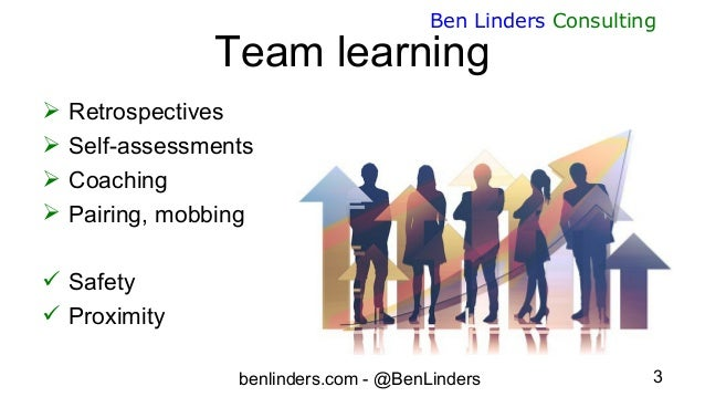 Learning at Scale - FlowCon France 2019 - Ben Linders Slide 3