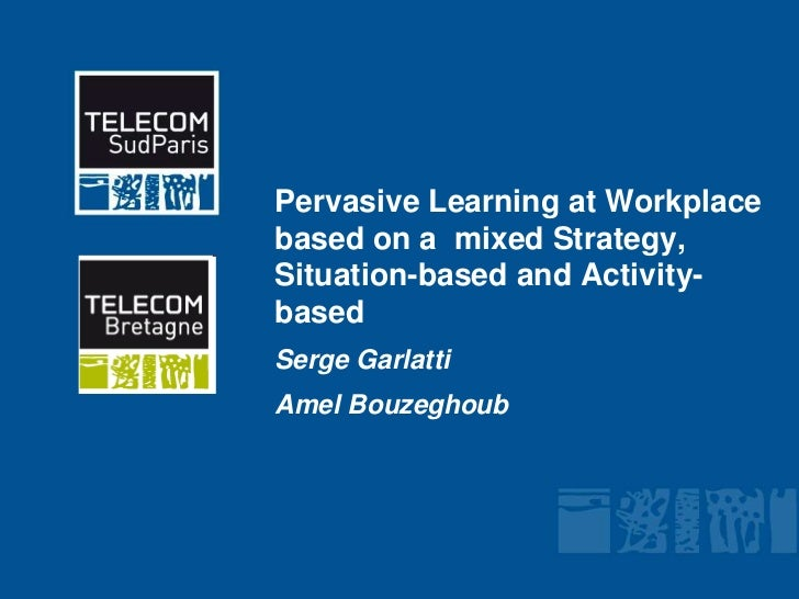 Learning at workplace