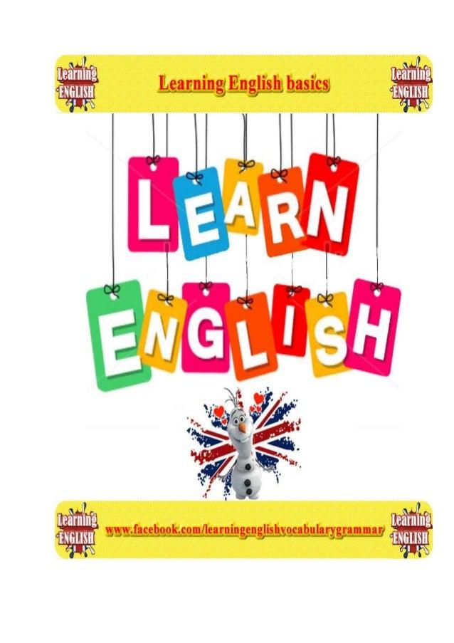 Learning basic English - basics of English lessons