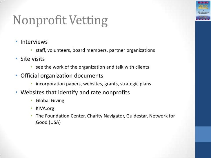 nonprofit sector research fund working paper series The nonprofit sector research fund (nsrf) was established in 1991 to  increase  and working papers that present findings of fund-supported research   the discussion about payout ultimately should turn on a series of  philosophical and.