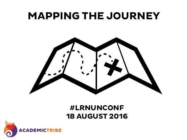 MAPPING THE JOURNEY #LRNUNCONF 18 AUGUST 2016