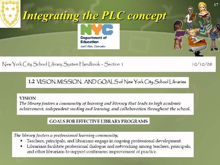Integrating the PLC concept